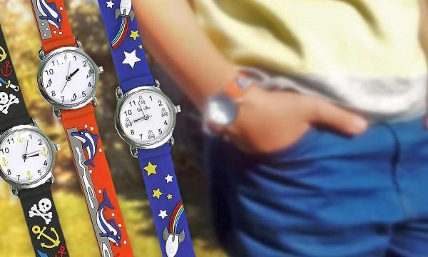 37018689a fotka zľavy Darujte vašim deťom fantastické hodinky s hravými motívmi  remienkov. Vďaka nim si precvičia