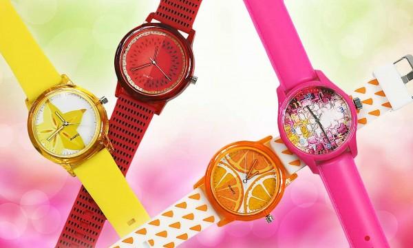 38e85f4de Originálne dámske hodinky vo výrazných farbách - svieži doplnok, pre každú  dámu teraz s bonusom 3+1 ZADARMO